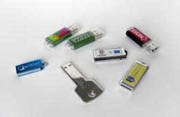 USB atmintinių pavizdžiai